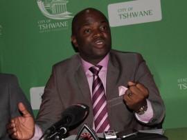 Mayor Solly Msimanga Photo: Ron Sibiya