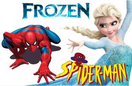 Elsa dating Spiderman