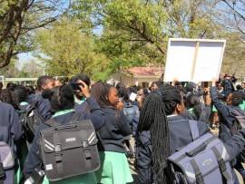 EFFSCspokesperson Naledi Chirwa accused COSAS on Tuesday of demanding sexual favours from Pretoria Highschool for Girls learners. Photo: Tshegofatso Ngobeni