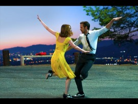 Emma Stone and Ryan Gosling star in the musical 'La La Land'.