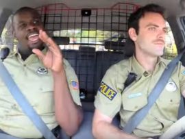 VIDEO OF THE DAY: Cops lip sync to Taylor Swift when they're bored