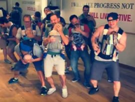 VIDEO OF THE DAY: Dads dance to the beat to bond with their babies