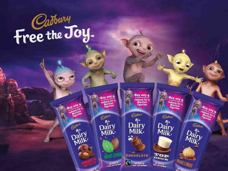 Cadbury Dairy Milk Martians
