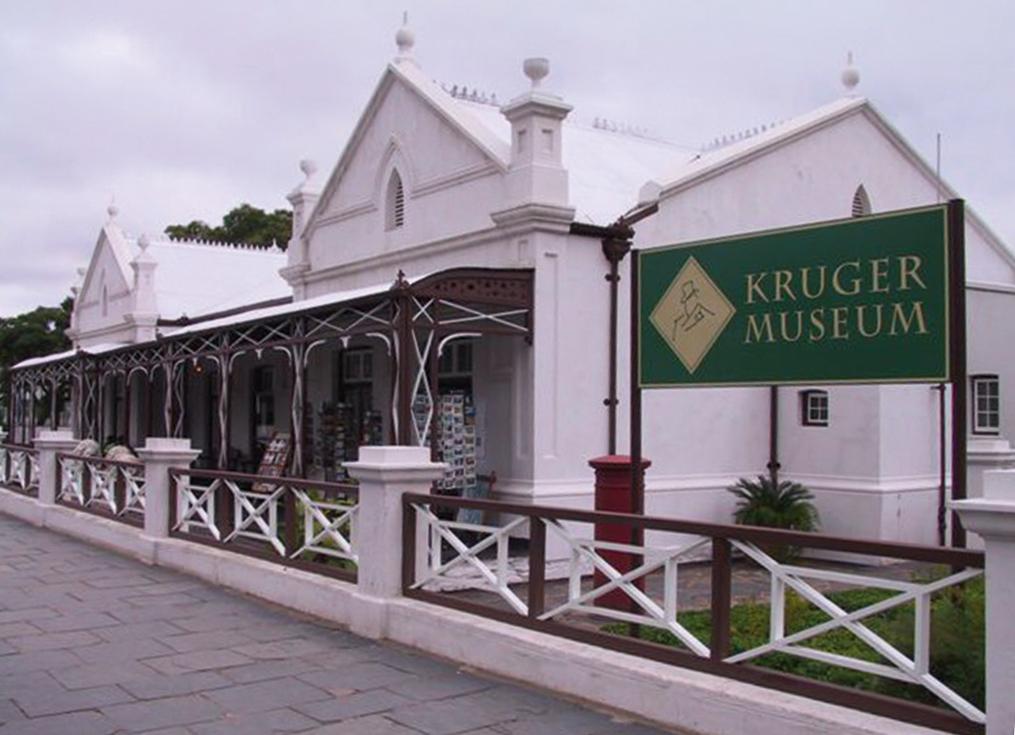Former president Paul Kruger's house
