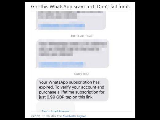 whatsapp sms verification