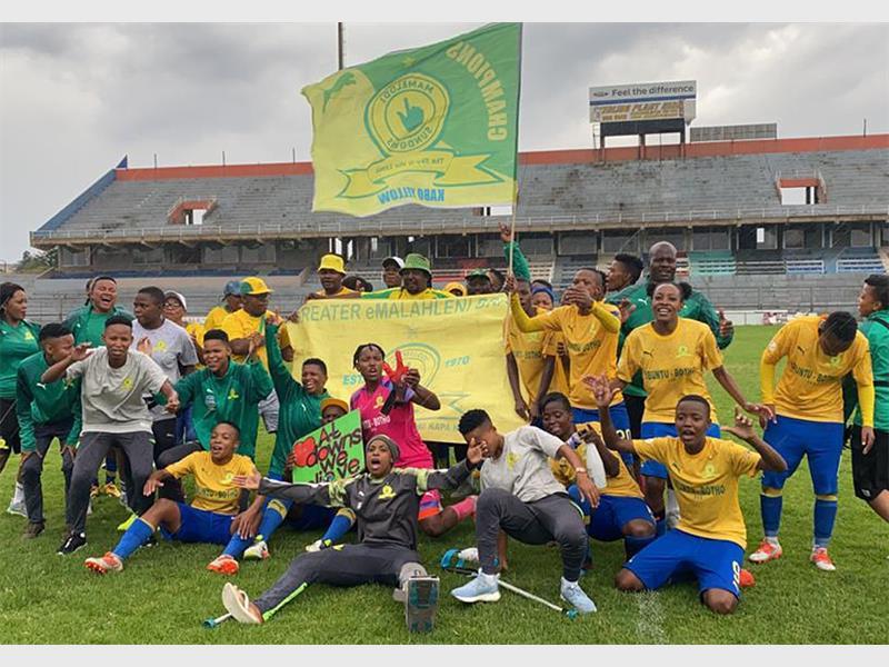 Mamelodi Sundowns Ladies Team Crowned Champions Rekord East