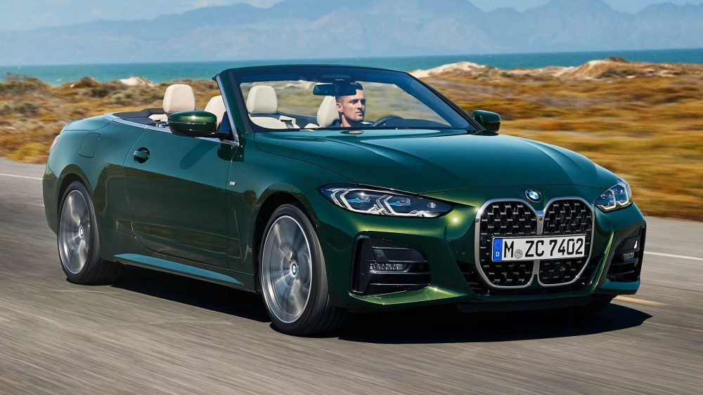 Ignore the 'massive' grille. Here's the all-new BMW 4 Series Convertible - Rekord East