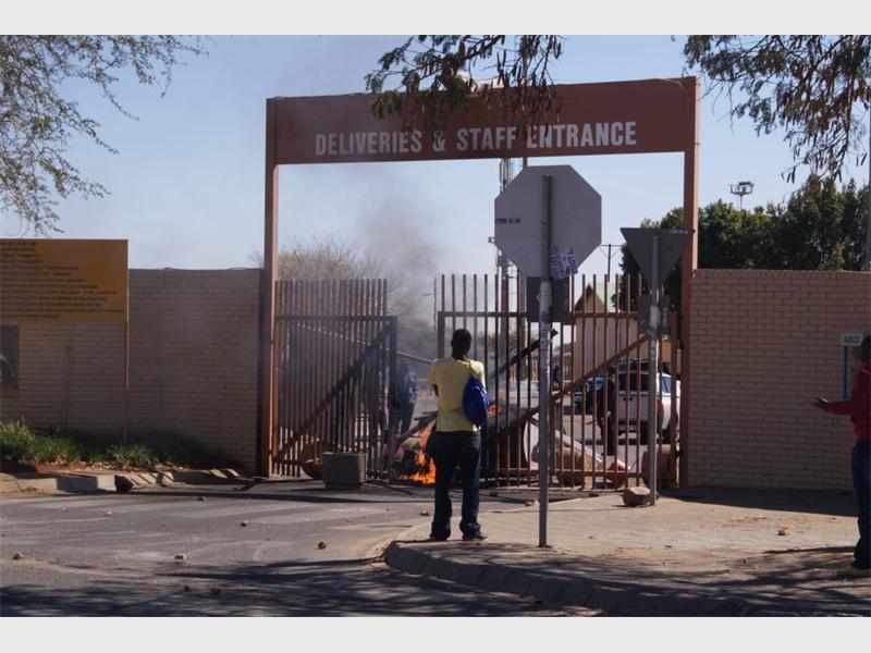 Student Protests At Tshwane University Of Technology Timeline