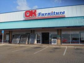 The OK Furniture store at Soshanguve Plaza was robbed on Saturday. Photo: Angel Mahlo