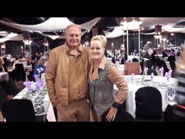 Jurie en Riekie Steenberg. Foto: Facebook