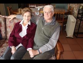 Rika en Hannes van der Merwe. Foto: Corlia Kruger