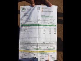 The municipal services bill of Selina Phahlamohlaka from Soshanguve Block IA. Photo: Angie Mbombi