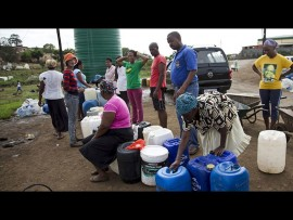 Several sections of Hammanskraal and Soshanguve have been hard hit by water supply interruptions.