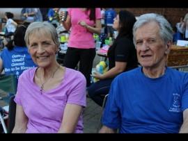 Kay and Jan du Plessis. Photo: Eliot Mahlase