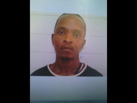 Victor Chauke, arrested for alleged possession and dealing in contraband DVDs and CDs.