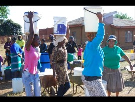 Residents have been experiencing water supply interruptions.