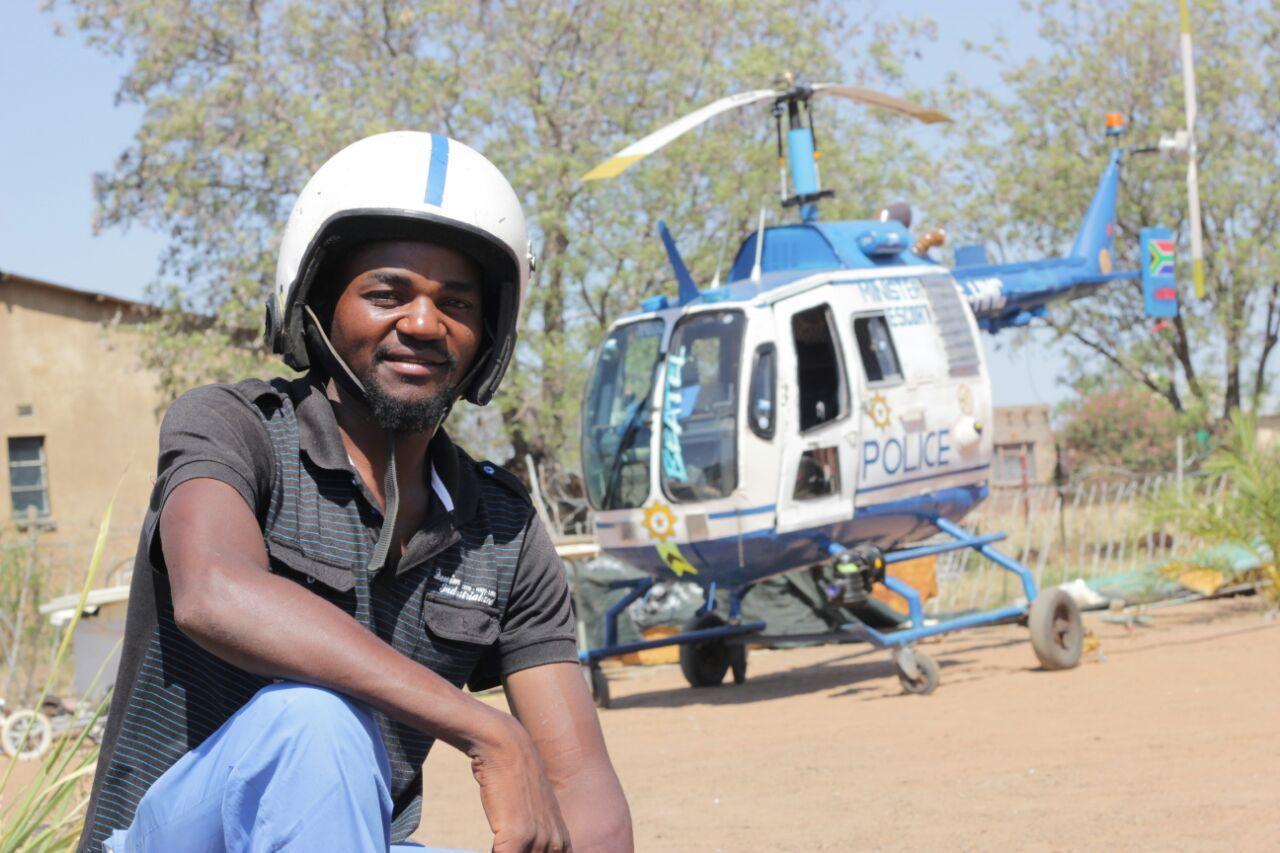 video hammanskraal man builds helicopter in backyard rekord north