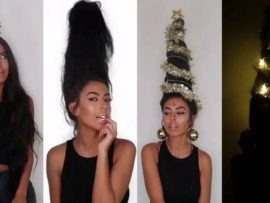VIDEO OF THE DAY: Festive hairstyle tutorial