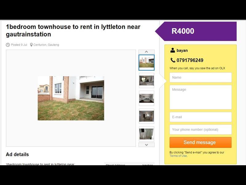 Beware of Centurion flat rental scam   Centurion Rekord