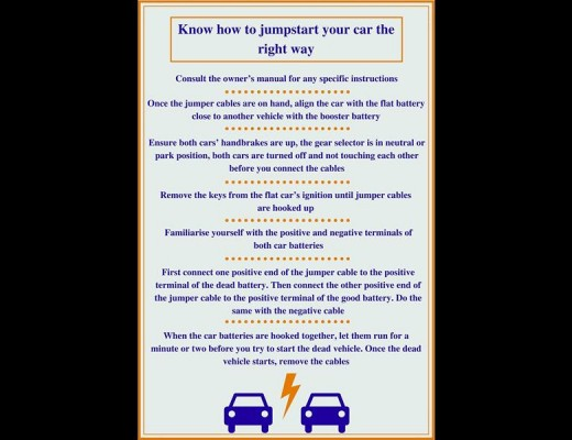 Know How To Jumpstart Your Car Centurion Rekord
