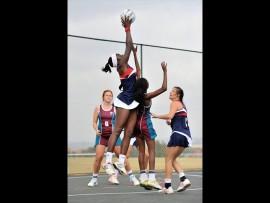 Akosua 'Bubbles' Mensah has been chosen for the Gauteng provincial netball team.   Photo: Supplied