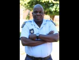 Lyttelton police spokesperson Warrant Officer Hero Gumbu. Photo: Kristian Meijer.