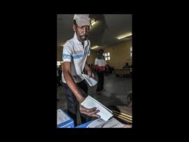 Man votes in previous elections. Photo:Corbis