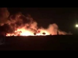 Four dead as fire ravages Plastic View