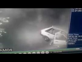 VIDEO: Sinoville-thief steals vehicle