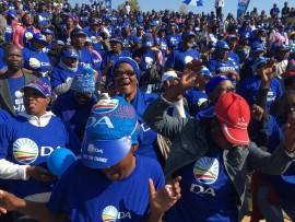 DA members celebrate electoral victory. Photo: Supplied