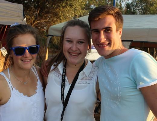 Elane van der Merwe, Benecia van Staden and Zayne Vorster.