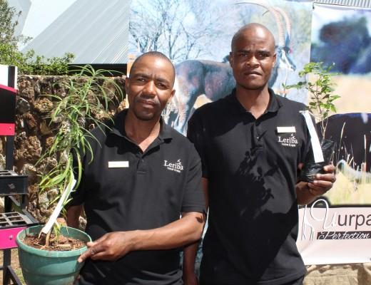 Fanie Mtimunye and Jonas Seema.