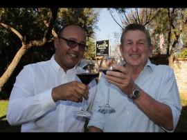 Christo van der Rheede and Peet du Preez. PHOTO: Ron Sibiya