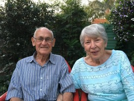 Andrew and Emmie van der Watt recently celebrated their 60th wedding anniversary.