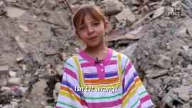 Children In War-Torn Aleppo Ask The Presidential Candidates A Question