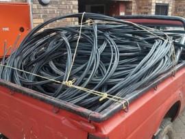 Tshwane police seize stolen cable weighing 406 kilograms. Photo: facebook