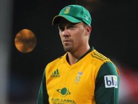 Proteas batsman AB de Villiers. Photo: BackpagePix