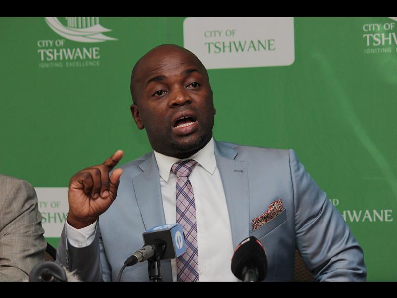 Tshwane mayor Solly Msimanga. Photo: Ron Sibiya