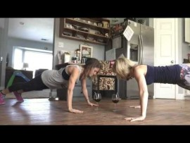 WATCH VIDEO: Best Friend Wine Workout