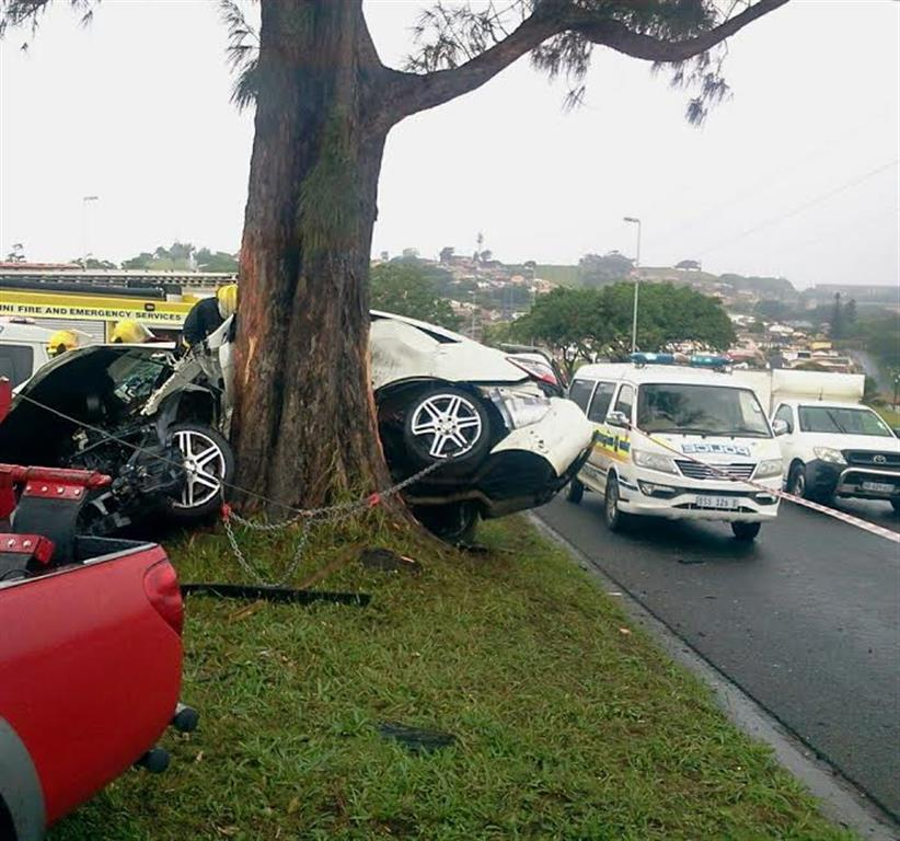 The scene of the accident. Photo: Rising Sun