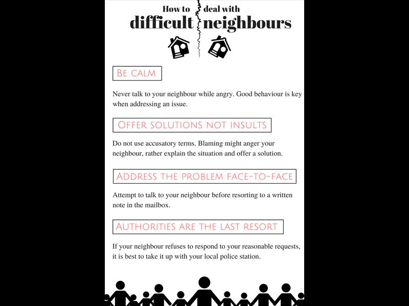 how to talk to your neighbor