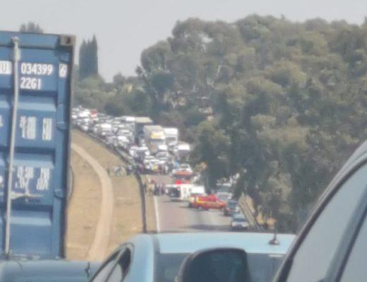 BREAKING NEWS: Three die in N14 accident involving three