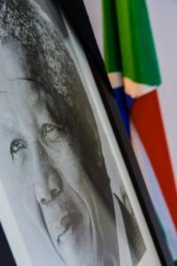 Belgium - Tribute to Mandela in South African Embassy