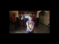 Die vierjarige Annamarie van Greunen was deur 'n gewapende kaper langs die pad afgelaai nadat hulle haar en haar tannie, Annatjie Pretorius, in Danville gekaap het.