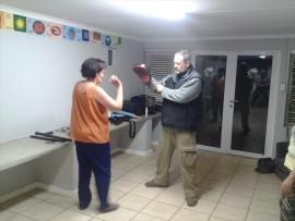 Buurtwag vroue in Pretoria-Wes kry teenverkragtingsopleiding van die AfriForum Pretoria-Wes-tak. Photo: Supplied