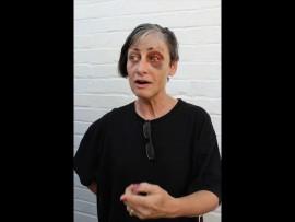 Corma Du Plessis onthou fyn besonderhede van die aand met die aanval. Foto: Corlia Kruger