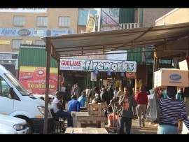 Shop owners claim all is well in Marabastad. Photo: Thato Mahlangu.