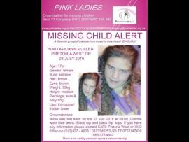 Missing teen Nikita Roxyn Muller Photo: Pink Ladies