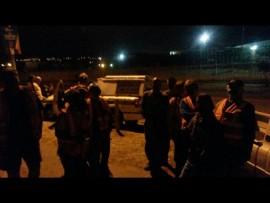 Pretoria West police and AfriForum neighbourhood watch arrested a man on suspicion of theft. Photo: Supplied