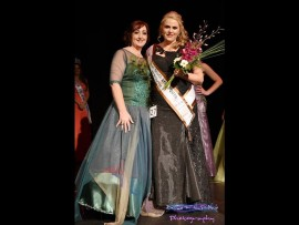 Director of the MDSA - Miss, Mr & Mrs Deaf SA, Leviena Smit with Janice Jonker. Photo: Supplied.